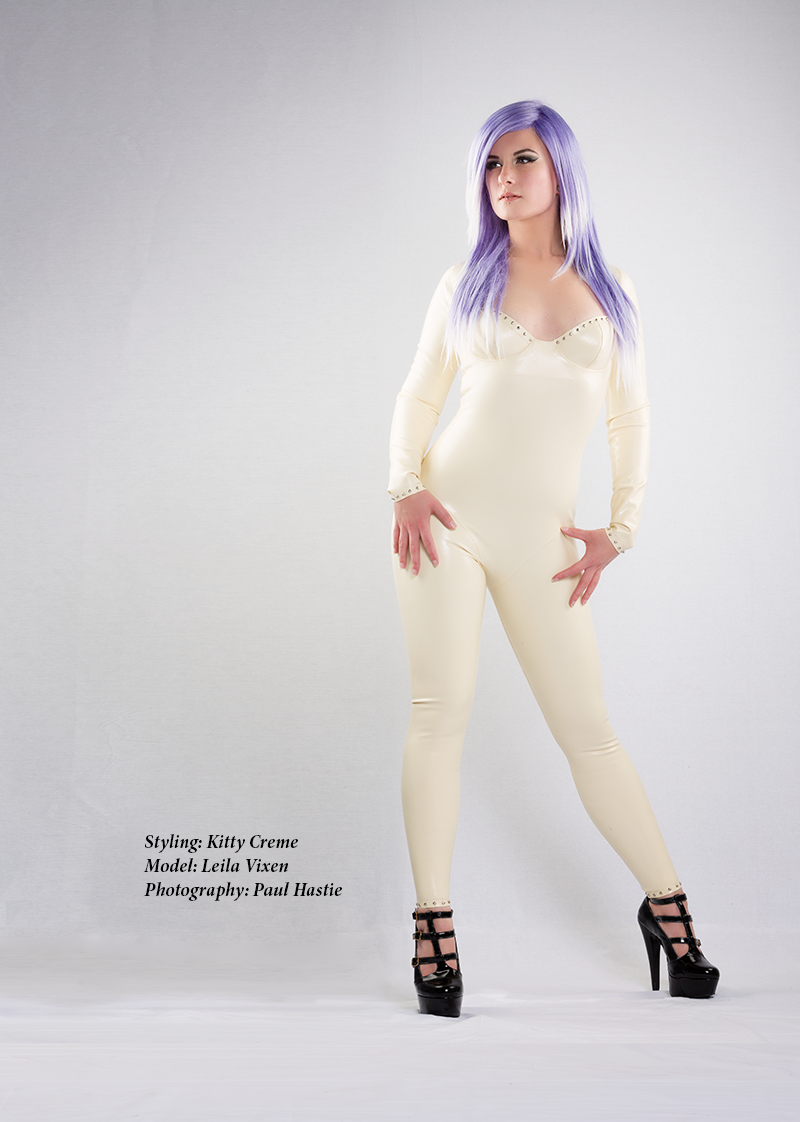 Kitty Creme Latex Leila Vixen