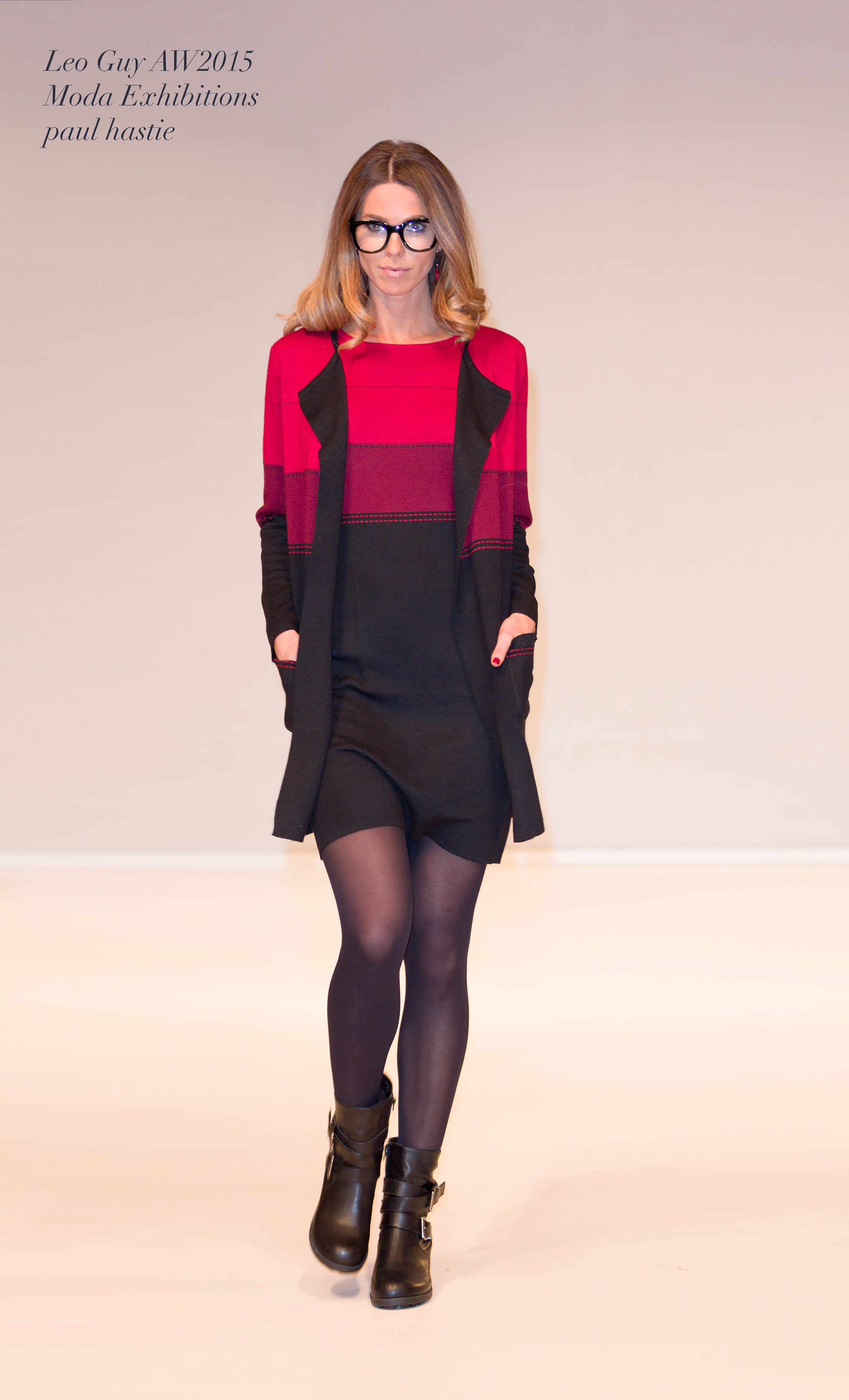 bold colours in knit