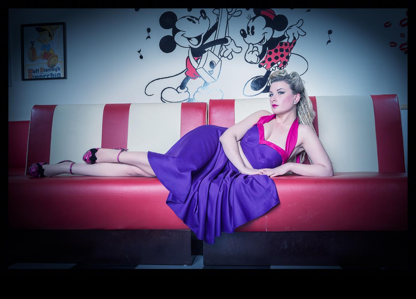 Leila Vixen for Hello Violaceous